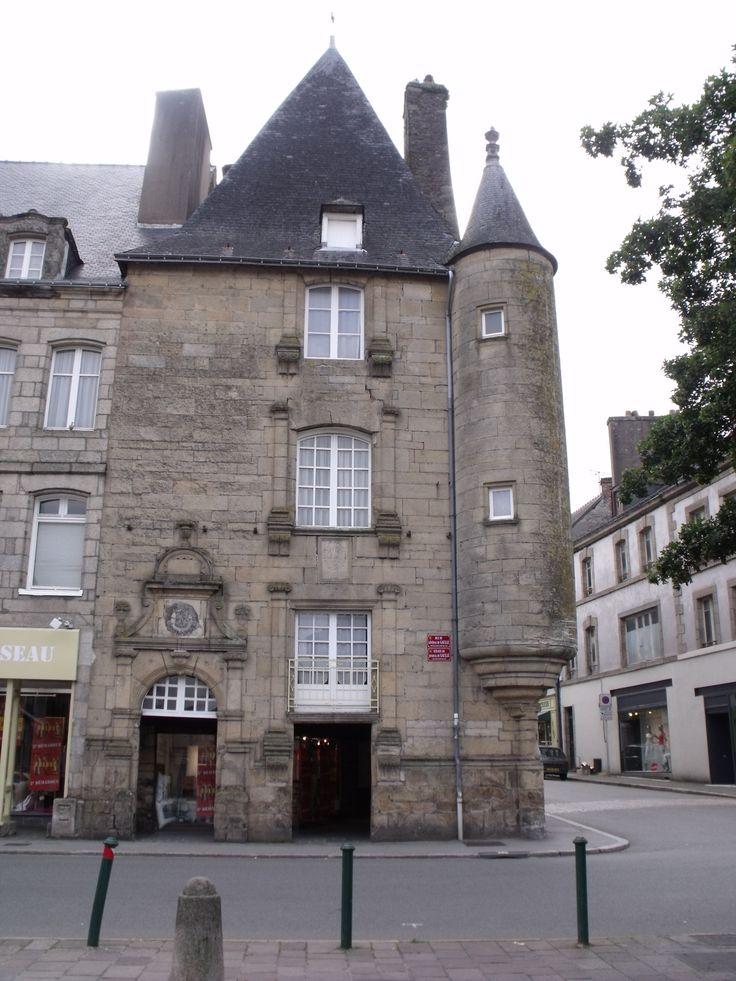Pontivy (Morbihan) - Rendez-vous de chasse des Rohan