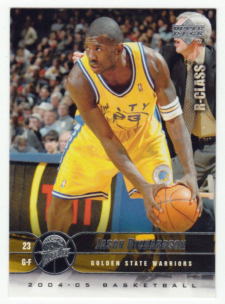 Jason Richardson # 26 - 2004-05 Upper Deck R-Class Basketball
