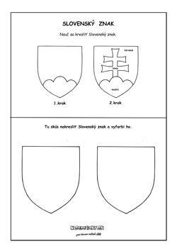 Slovenský znak pracovný list