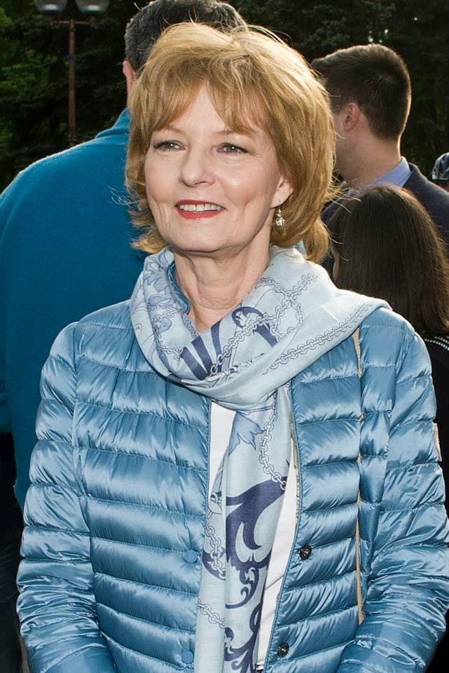 Princess Margarethe of Romania. Hermès scarf
