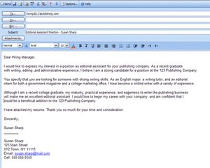 100 free professional cover letter examples - Professional Resume Review