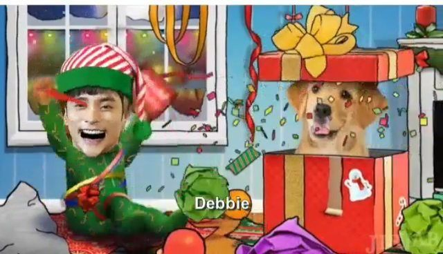 """0 Likes, 1 Comments - Debbie Moh (@debbie_moh) on Instagram: """"#debbie_moh My post made for #SungHoon 💞💞💞 Merry X'mas & Happy New Year !!!🎄🎆 Sung Hoon Very Best…"""""""