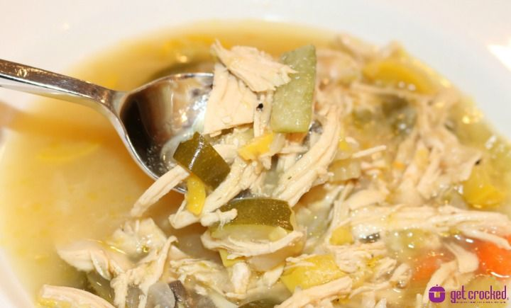 Slow cooker harvest chicken soup so delicious you can 39 t for Delicious slow cooker soup recipes