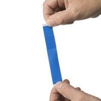 Pleister blauw detecteerbaar elastiek