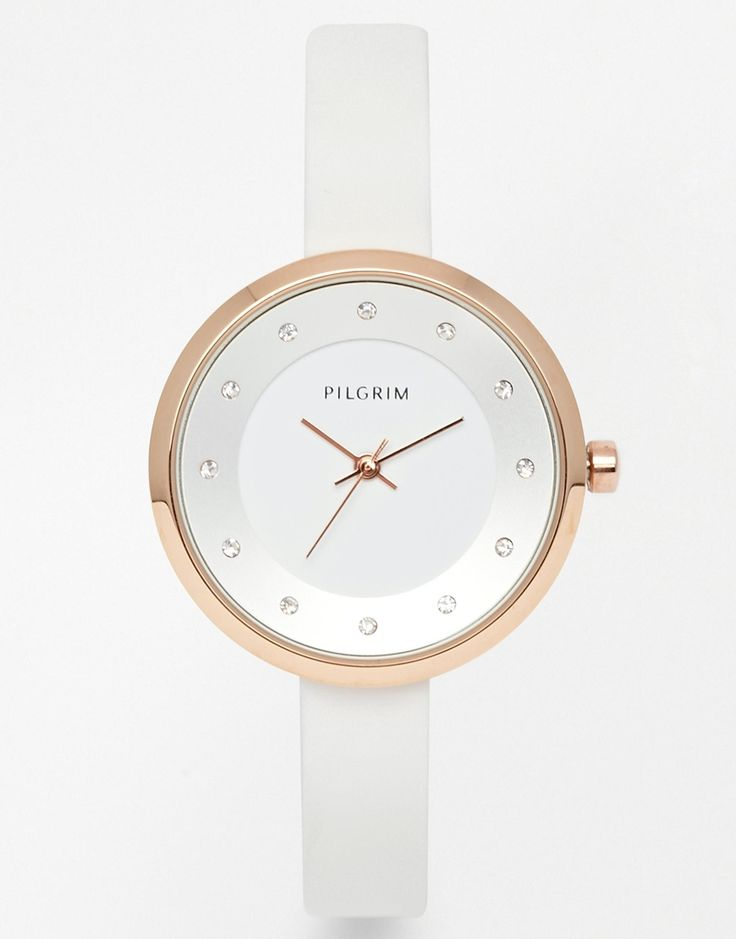 Pilgrim Rose Gold Plated Clean Watch