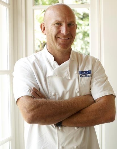 MEET: Matt Moran. Matt has been part of the judging panel for the coveted Vogue Entertaining & Travel Produce Awards since its inception in 2005 and had a weekly spot on radio with the ABC's James Valentine on Relish. Matt appears regularly as a guest chef at The Good Food and Wine Show in Sydney, Melbourne, Brisbane and Perth joining forces with local and international celebrity chefs.