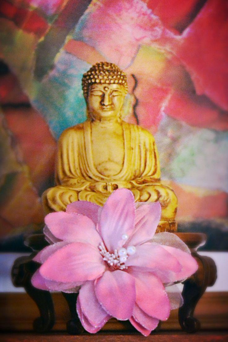 #buddha statue in my bookcase
