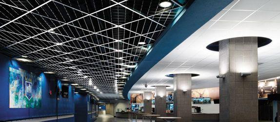 Steel Grating Ceiling Google Search Metal Ceiling