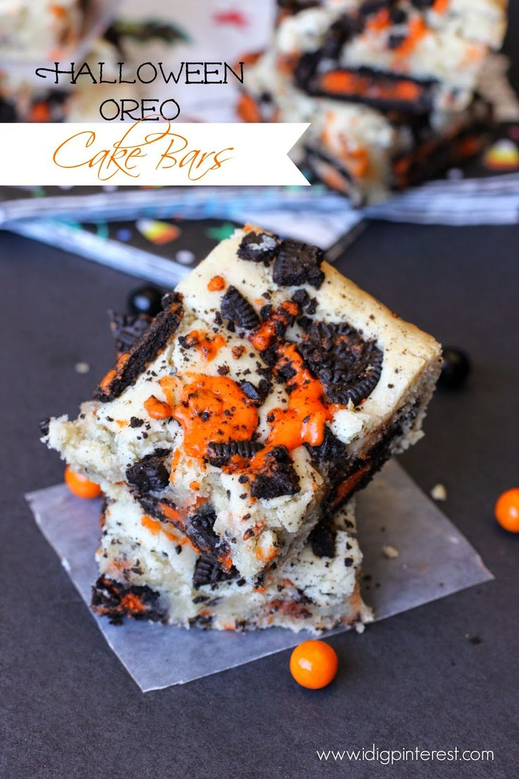 This is a Sponsored post written by me on behalf of Dollar General. All opinions are 100% mine. One of the things I most look forward to about Halloween is baking spooky treats, so I've created some perfectly soft, festive black and orange Halloween Oreo Cake Bars! And let me tell you…they are GOOD! What...