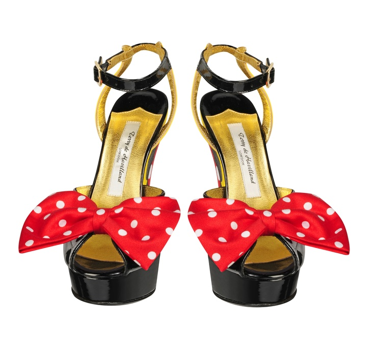 Buty - Terry de Havilland   Copyright ©Disney