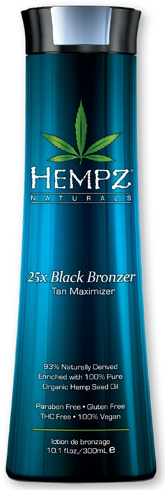 Hempz 25x Black Bronzer Tan Maximizer