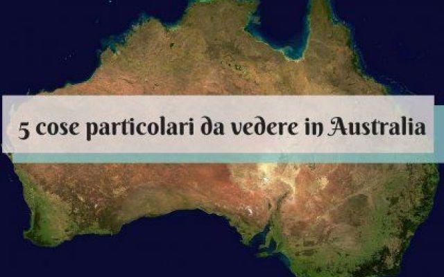 Vuoi vedere qualcosa di particolare in Australia? Eccone 5! Stai pianificando un viaggio in Australia, ma non vuoi approfondire la tua visita con alcuni luoghi particolari che si discostano un po' dalle classiche mete turistiche australiane? Ecco 5 idee per u #australia #viaggi #viaggiare
