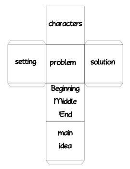 Story Elements Cube