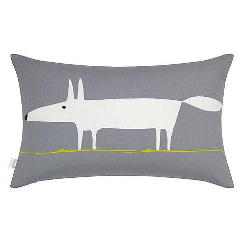 Buy Scion Mr Fox Cushion Online at johnlewis.com