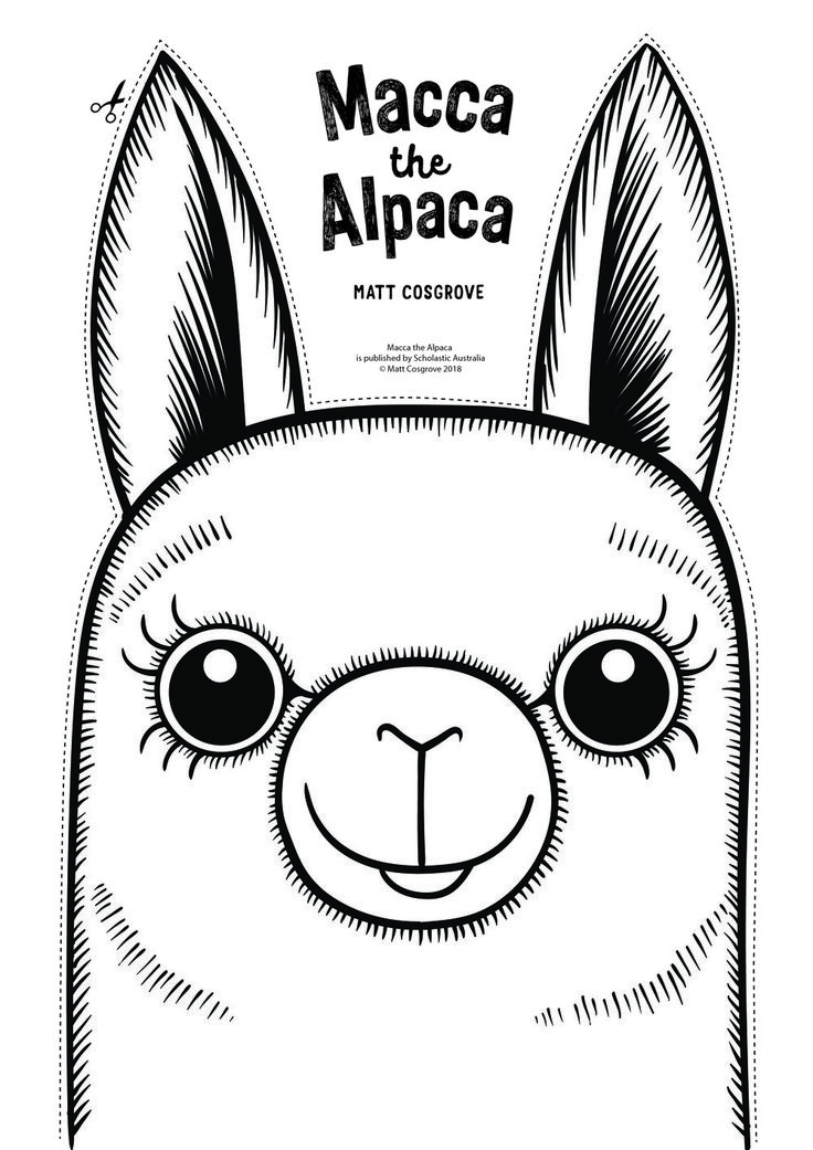 DRESS UP AS MACCA THE ALPACA OR AL FROM ALPACAS WITH