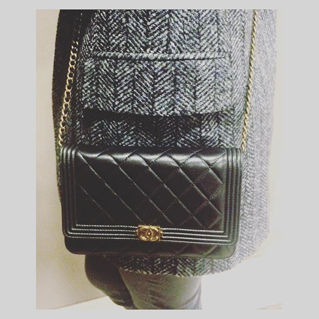 Chanel Boy WOC Black.