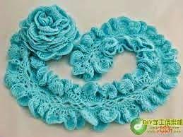 andrea croche: Festival de cachecol de croche