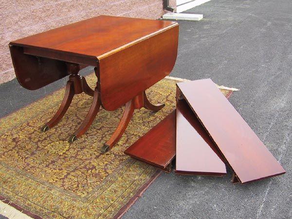 mahogany duncan phyfe drop leaf dining table 3 if i get. Black Bedroom Furniture Sets. Home Design Ideas