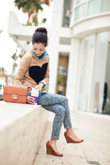From blog entry: http://www.wendyslookbook.com/2012/03/weekend-comfort-heart-sweater-silky-soft-scarf/