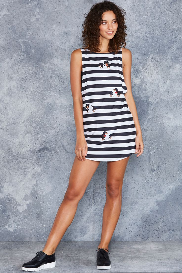 What A Sausage Tank Dress - 48HR ($80AUD) by BlackMilk Clothing
