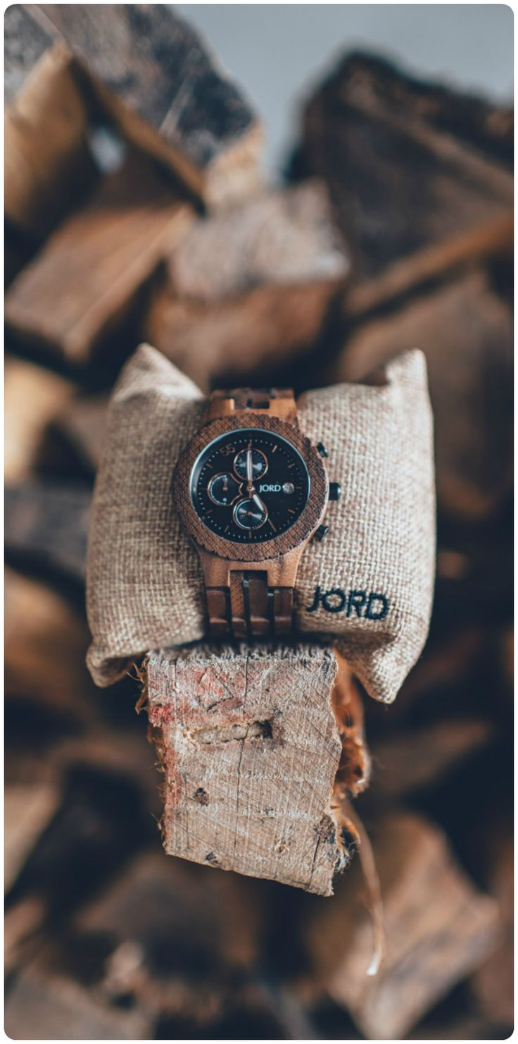 theo wooden wood leather watches black products true hut watch tree