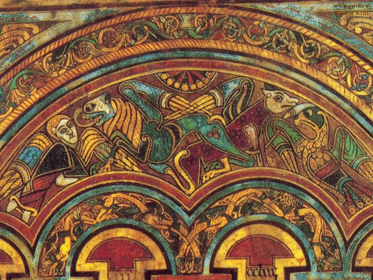 Book Of Kells Designs
