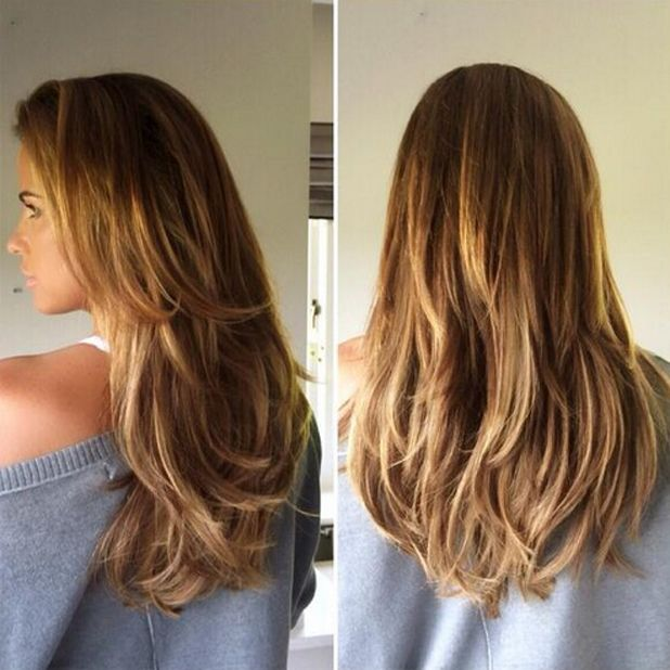 13 best beauty works celebchoice extensions images on pinterest katie price shows off new beauty works extensions in picture by hairdresser seaane chin hoyte pmusecretfo Image collections