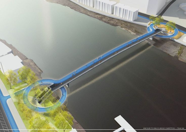 "74 ""Wild Designs"" Considered for New Thames Pedestrian and Cycle Bridge"