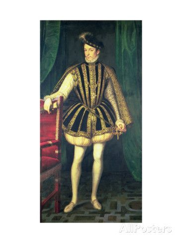 King Charles IX of France reproduction procédé giclée par Francois Clouet sur AllPosters.fr