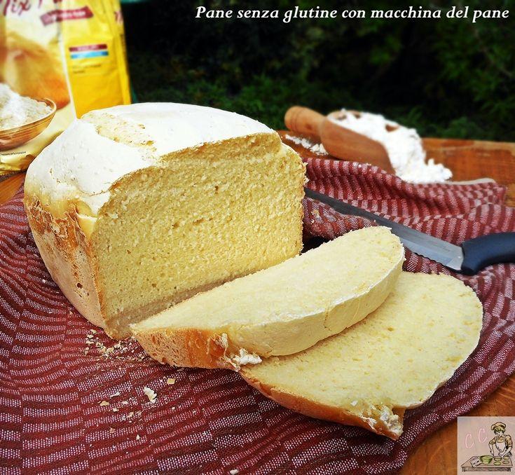 Pane senza glutine con macchina del pane una ricetta semplice veloce e pratica in pochissimo tempo si realizza un pane morbido e profumato.