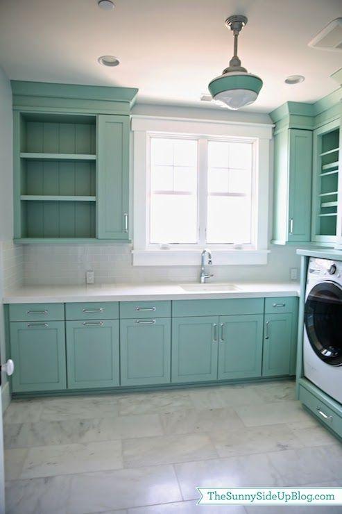 Laundry Room Light Blue