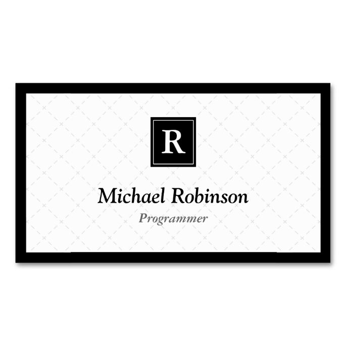 2291 best images about Monogram Business Card Templates on Pinterest