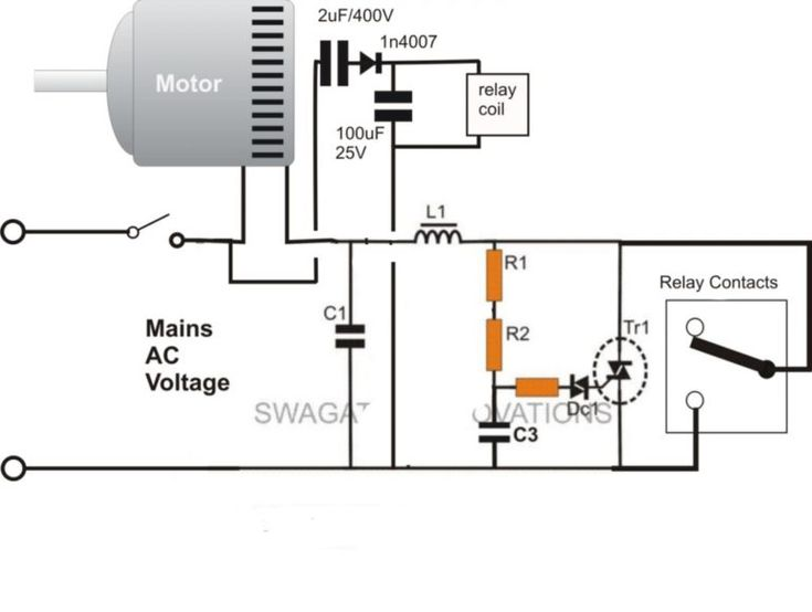 Start Run Capacitor Wiring Diagram And Kwikpik Me Motor