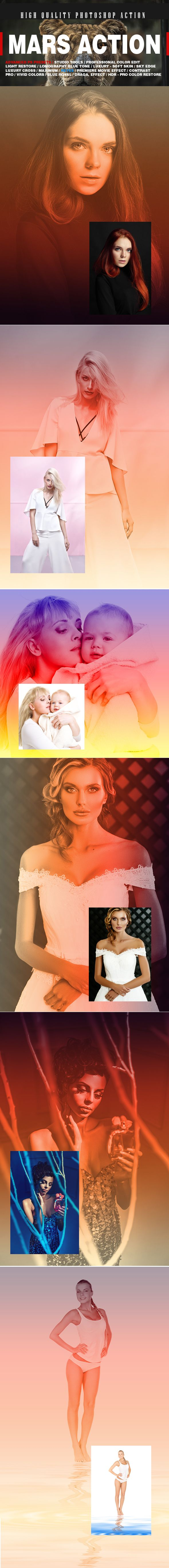 PROFESSIONAL MARS ACTION - Photo Effects Actions