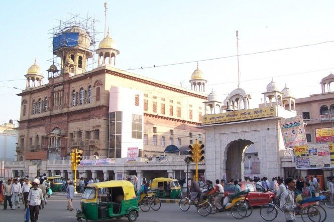 Gurudwara Sis Ganj Sahib In Delhi