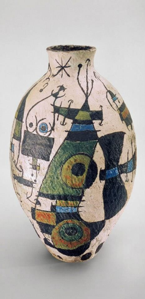 #ceramic #art - Vase by Joan Miro