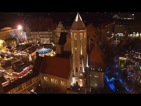 Weihnachtsmarkt-Serie: Feuerzangenbowle und Schokolade in Braunschweig - YouTube