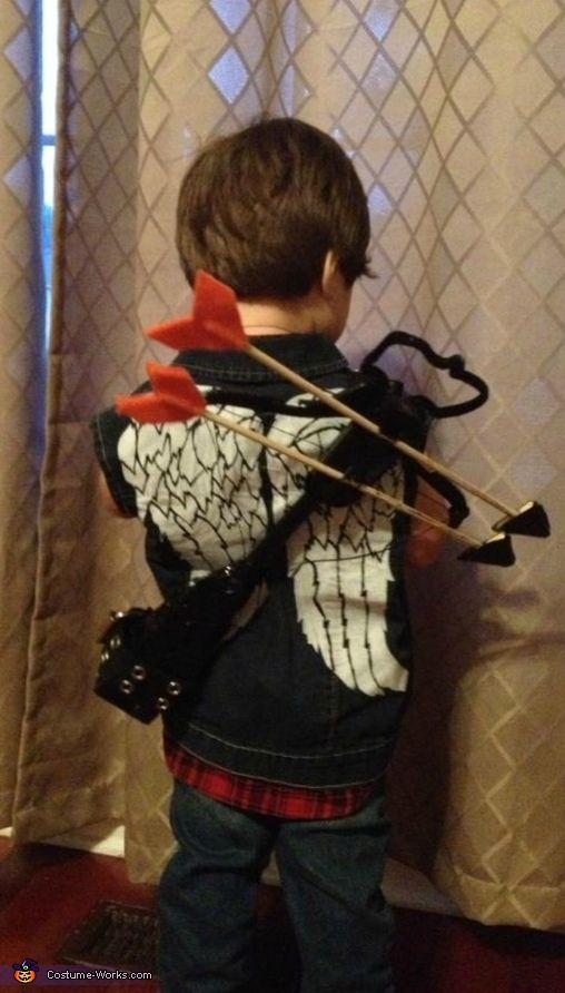 Daryl Dixon from The Walking Dead - Halloween Costume Contest via @costume_works