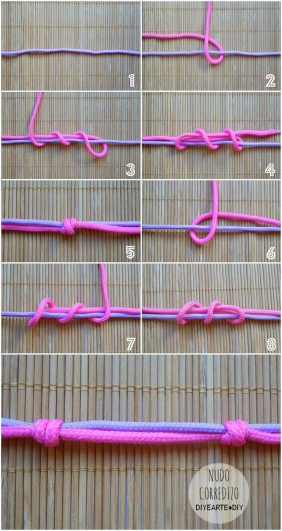 DIY: CÓMO HACER UN NUDO CORREDIZO | HOW TO MAKE KNOTS III: