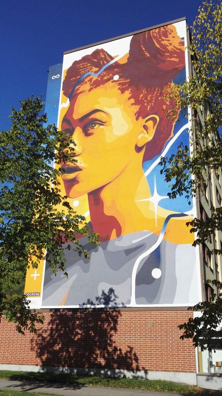 Street art Vantaa