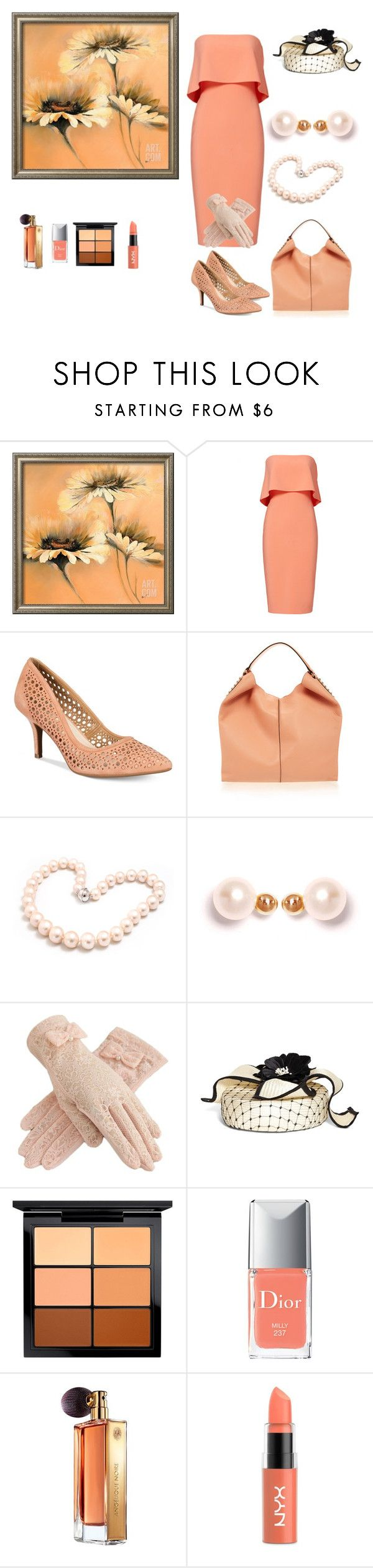 """""""Sunday church"""" by chauert on Polyvore featuring Alfani, Rebecca Minkoff, Hiho Silver, XISSJEWELLERY, Brooks Brothers, MAC Cosmetics, Christian Dior, Guerlain and NYX"""