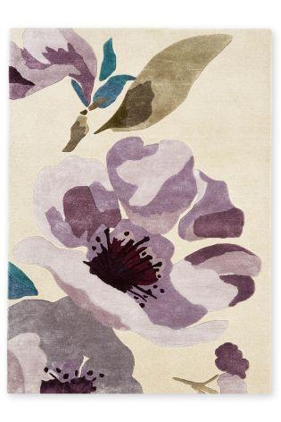 Elegant Floral Rug