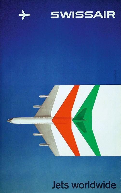 Max Schneider, Swissair, 1959