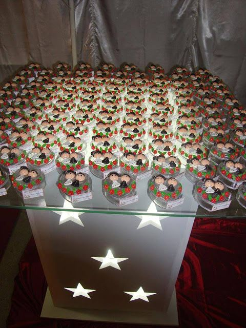 Biscuit da Mari: Lembrancinhas de Casamento em Biscuit - Ideias