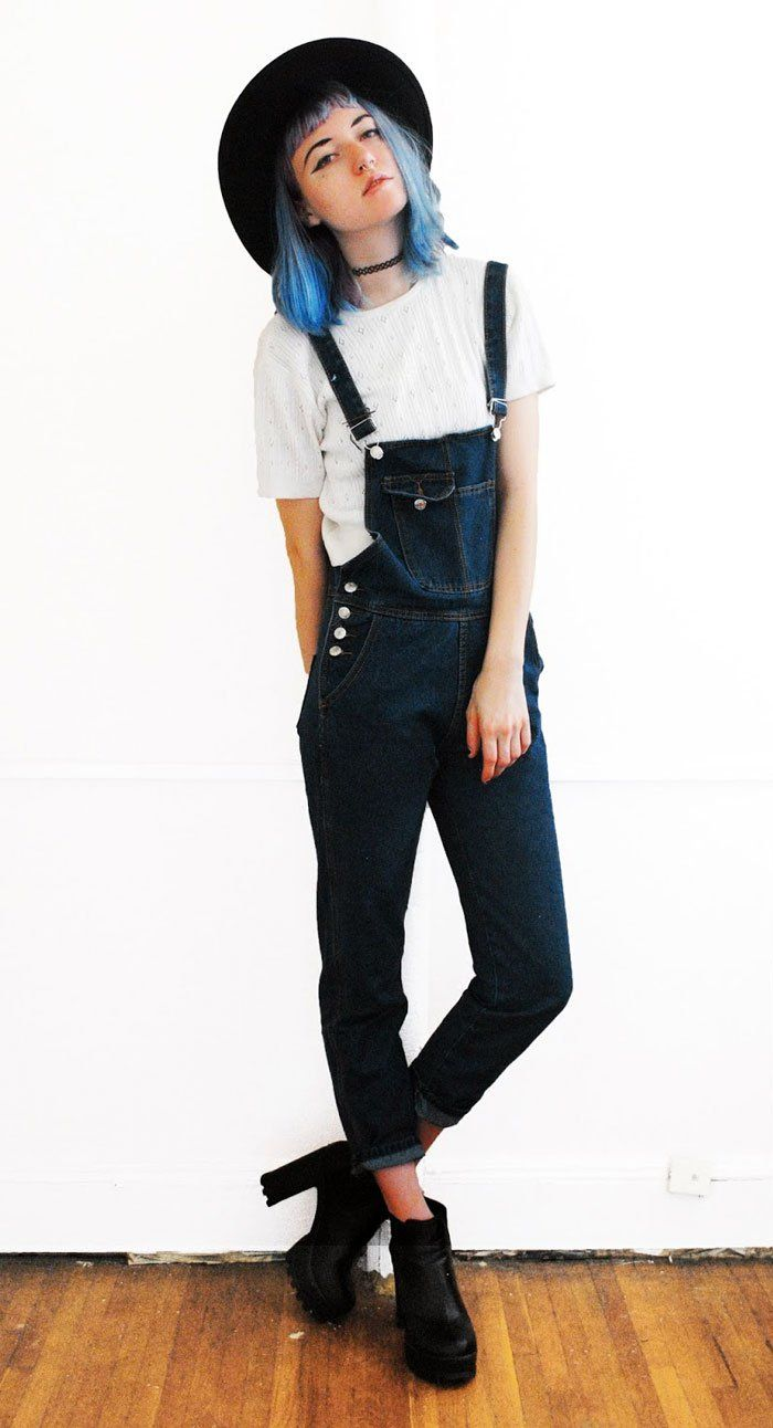 18 Must Have Grunge Accessories and Clothing | Denim style Overalls and Grunge