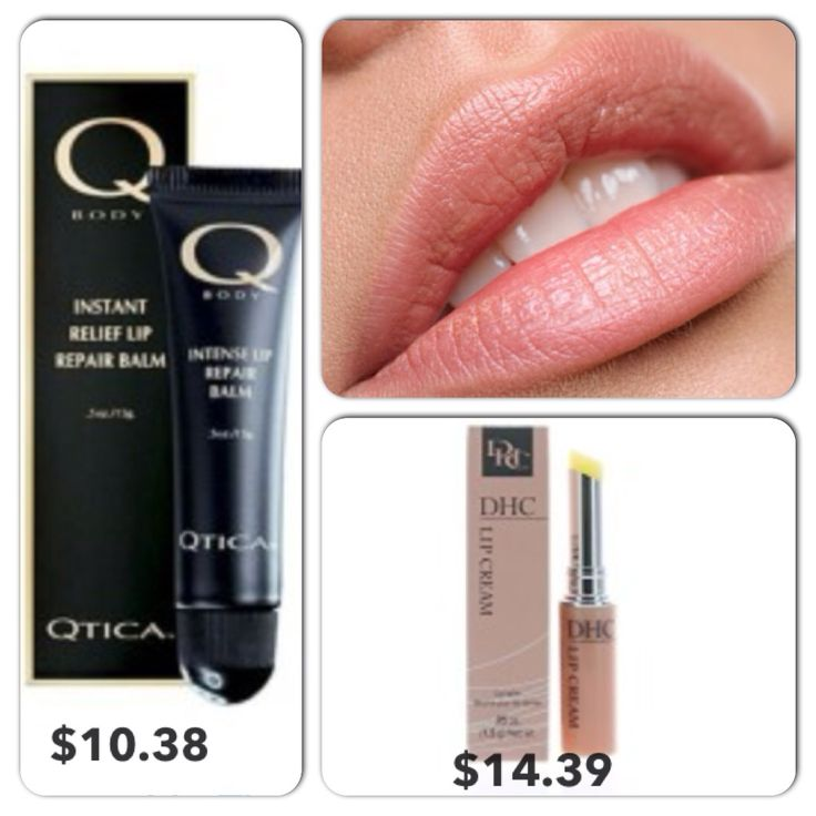 Qtica #Intense #Lip #Therapy #Balm and DHC #LipCream. #Shop #online!  www.Kbeautystore.com