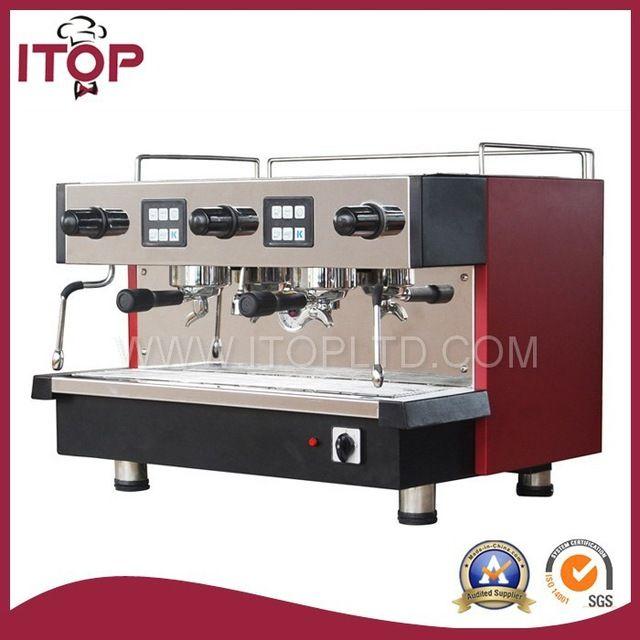 11l profesional doble grupo coffee maker/precios de las máquinas de café espresso-en Cafeteras de Dispositivos de Cocina en m.spanish.alibaba.com.