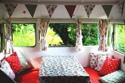Decora y diviértete: Ideas para decorar con estilo vintage el interior de las caravanas