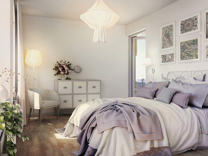 Bedroom in Brf Blicken in Haninge.