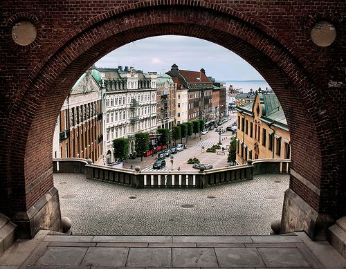 Helsingborg, Sweden (sister to Helsingor, Denmark - also known as elsinore)
